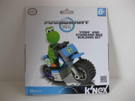 Yoshi and Standard Bike Building Set - MarioKart Wii (SEALED) -